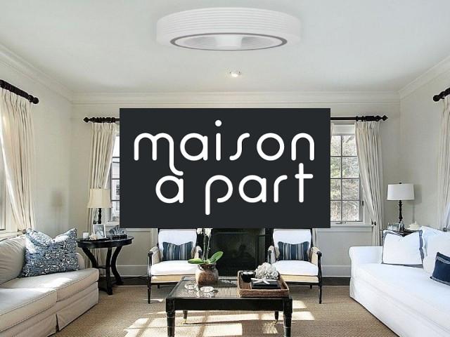 insolite un ventilateur de plafond sans pale maison part. Black Bedroom Furniture Sets. Home Design Ideas